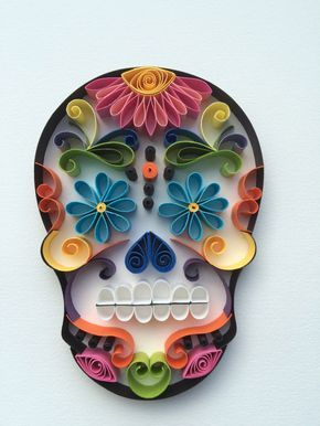 Sugar Skull / Calavera Mexicana Happy Face by Itisonlypaper