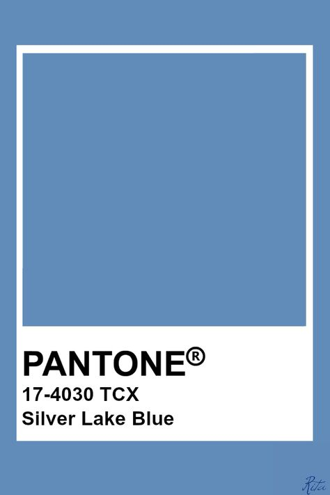Pantone Silver Lake Blue