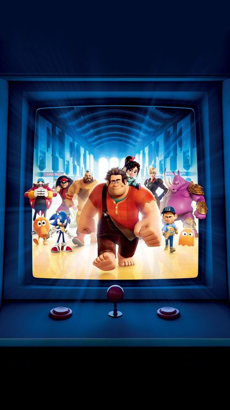 Wreck-It Ralph (2012) Phone Wallpaper   Moviemania