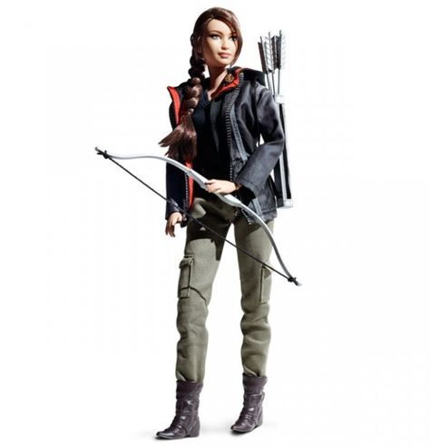 The Katniss Barbie Doll. I think this is pretty awesome!