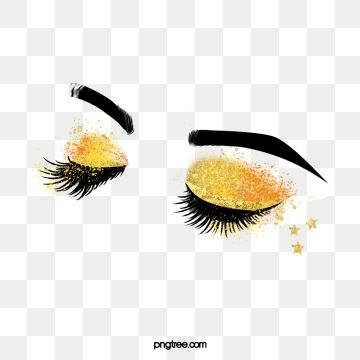 Hand Painted Black Curled Thick Eyelashes Star Eye Makeup Eyes Clipart Black And White Hand Painted Black Line Png Transparent Clipart Image And Psd File For Cilios Mais Espessos Clipart Preto