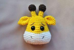 You can buy this pattern here: | Jirafa tejida al crochet ... | 194x290