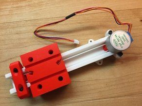 Linear Actuator Collection Thingiverse 3d Printing 3d Printer