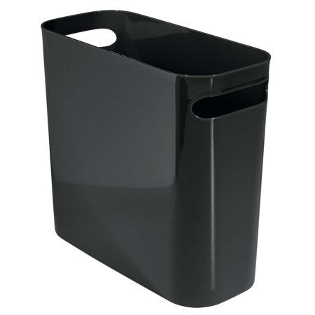 Interdesign Una Wastebasket 10 Inch Size 10 Inch Canning Garbage Containers Recycling Bins