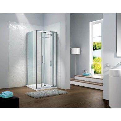 Flair Slimline Capella Bi Fold Shower Door Shower Doors Bifold Shower Door Bifold Doors