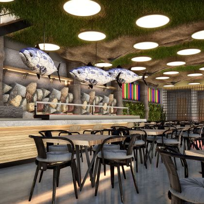 Interior Design For Restaurants Design Architecture And Spaces Online Course By Masquespacio Domestika In 2021 Restaurant Design Creative Interior Design Interior Design