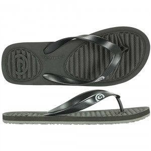 Cobian Aqua Pod Flip Flops Black With Images Mens Flip Flops