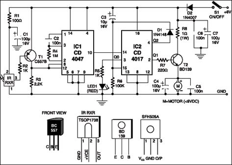 25 Ir and rf receiver and transmitter circuit s ideas