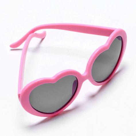 2785241ebfd Pink Heart Shaped Sunglasses Pink Sunglasses (shop Rakunsell---Etsy ...
