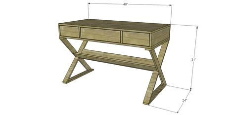 Diy Instructions For A Vanity Dressing Writing Table I