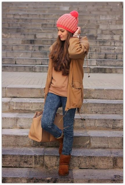 Looks botas com pelinho, Ugg boots | Outfits With Uggs | EMU