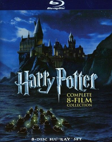 Harry Potter The Complete 8 Film Collection Blu Ray Walmart Com In 2021 Harry Potter Movies Movie Collection Movies