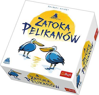 Trefl Gra Rodzinna Towarzyska Zatoka Pelikanow Board Games Book Cover Books