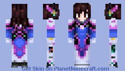 Widowmaker Minecraft Skin
