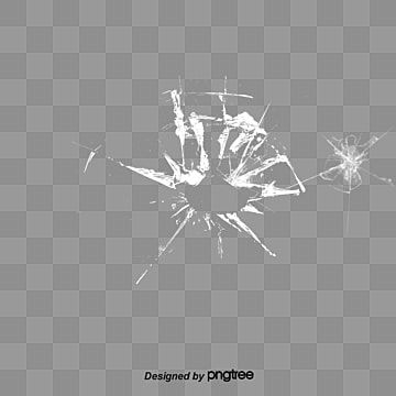 Broken Glass Material Bullet Holes Shootings Rupture Element Png Transparent Clipart Image And Psd File For Free Download Glass Material Geometric Background Broken Glass