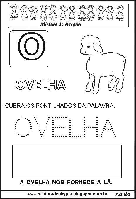 Bichonario Alfabeto Animal Para Alfabetizacao Atividades Com O