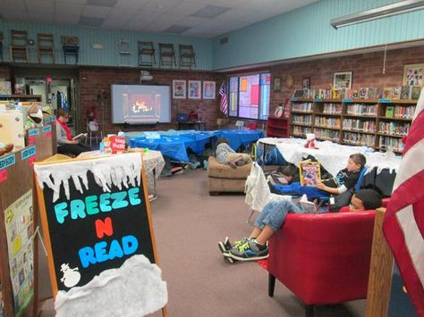 """Chelsea Sims on Twitter: """"Today we celebrated with a Freeze-n-Read party! Crackling fire on the SMARTboard, books + cookies! #iowatl http://t.co/qpnzlVOFyU"""""""