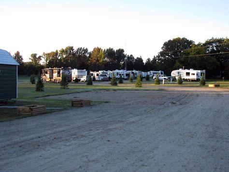 Wagon Train RV Park At Canton Texas United States