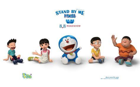 HD wallpaper: Stand By Me Doraemon Movie HD Widescreen Wallpaper.., Doraemon cast wallpaper