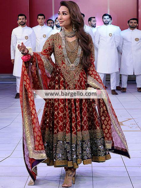 - Beautiful Bridal Anarkali Dresses - For order & Inquiry: New York U.A: 0585 638 3223 London U.K: Perth Australia: Bridal Rapids Illinois US… and
