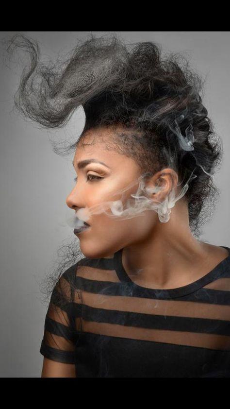 """Dry Ice Queen"" Hair/Makeup: Natalie Thompson aka # ..."