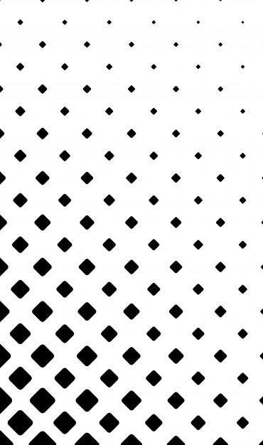 Download Monochrome Square Pattern Background Geometric Vector