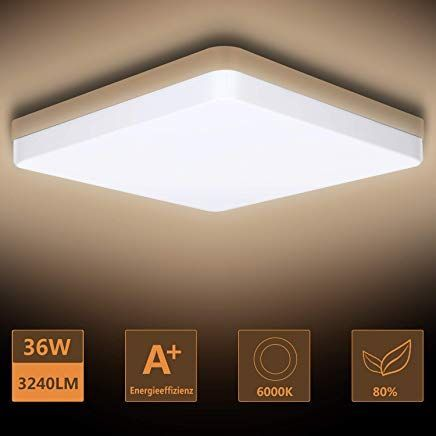 Ouyulong Led Deckenleuchte 36w 6000k 3240lm F R B Ceiling Lights Ceiling Light