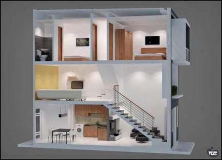 34 Ideas Home Design Simple Loft Small House Design Tiny House Design Loft House