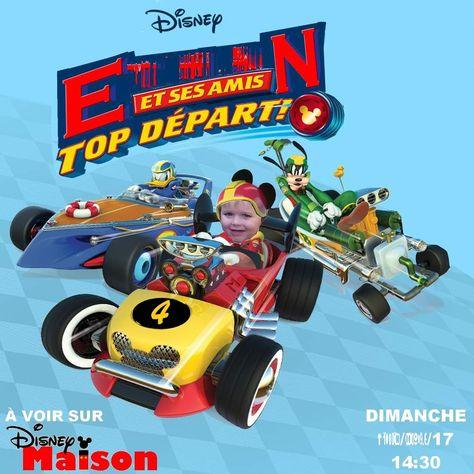 Invitation 4 Ans Bébé Loup Mickey Et Ses Amis Top Départ