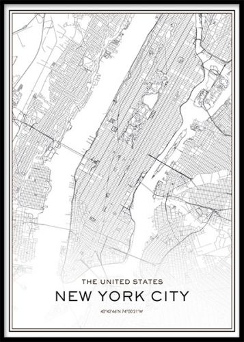 new york karta poster Map of New York NY | New York New York | MapQuest.| Ev için  new york karta poster