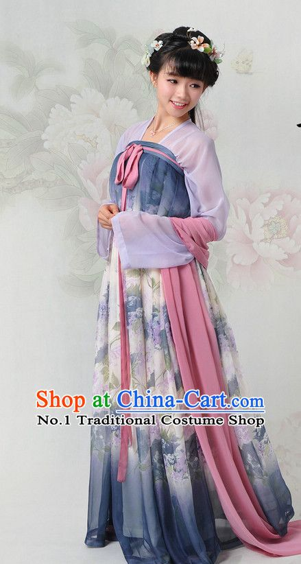 a7f0161b448 Chinese Hanfu China Shopping Asian Fashion Plus Size Clothing Clothes  online Oriental Dresses Ancient Costumes and Hair Accessories Complete Set