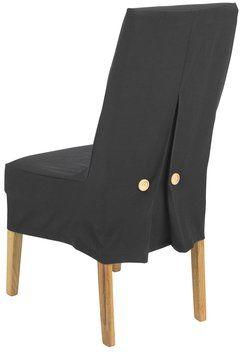 jysk dining room chair covers gray slipper cover dunhavre 39x75x21cm black inside sofa