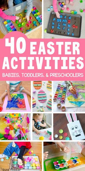 40 Super Fun Easter Activities For Kids Busy Toddler In 2020 Easter Activities For Kids Easter Activities For Toddlers Business For Kids