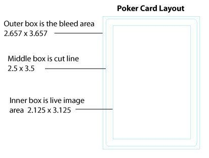 Playing Card Size Template Best S Of Playing Card Size Standard Playing Card Card Sizes Playing Cards Design Cards