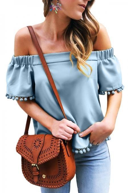 Samefar Womens Floral Short Sleeve V Neck Chiffon Twist Tops Casual Loose Blouses Shirts