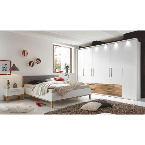 Komplett-Schlafzimmer Rebecca Jetzt bestellen unter   - schlafzimmer weiss hochglanz