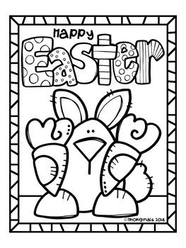 Free Easter Bunny Coloring Page P4 Clips Trioriginals Bunny Coloring Pages Easter Bunny Colouring Coloring Pages