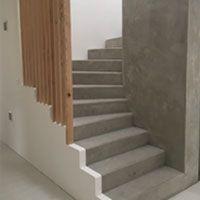 Escalier Beton En Kit Modele B2m Escalier Beton Escalier Prefabrique Escalier Beton Cire