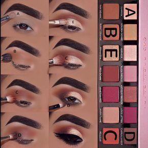 Tutorial for Anastasia BH Modern Renaissance #makeupeyeshadows