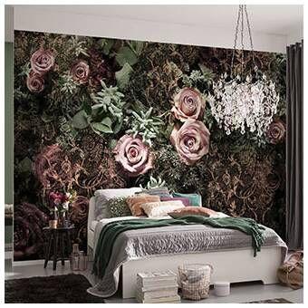 Tia Peel And Stick Wallpaper Tile Romantic Bedroom Decor Wall Mural Poster Mural Wallpaper