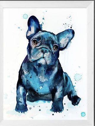 Pin Von Tranchen Auf Zeichnen Franzosische Bulldoggen Kunst Niedliche Tierzeichnungen Hund Malen