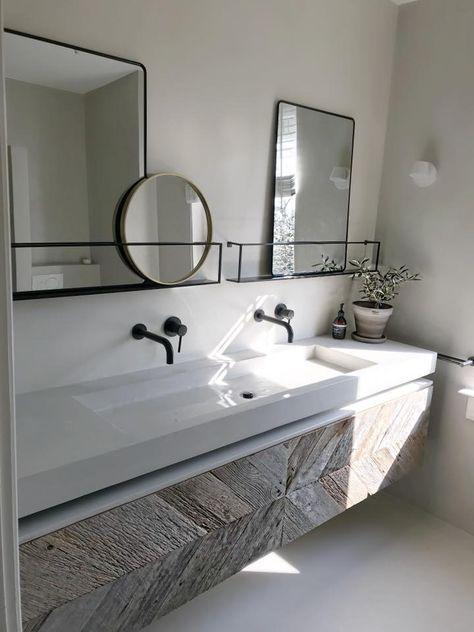 Badezimmer Ideen Fliesen Holzoptik In 2020 Badezimmer Kleine