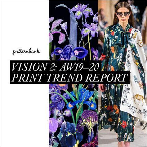 Vision 2: Autumn/Winter 2019/20 Print & Pattern Trend Report | Patternbank
