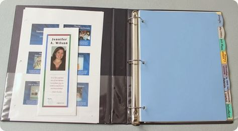 Creating a Teaching Portfolio that Gets You the Job! Leave a brochure behind with the interviewer so they remember the important stuff and have a face to put with the name!