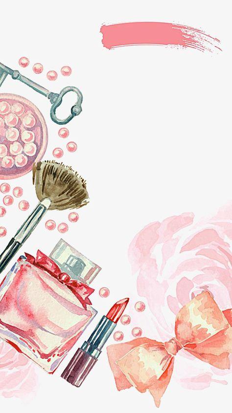 картинки косметики и парфюмерии для аватарки группы акварелью вызывает сложностей