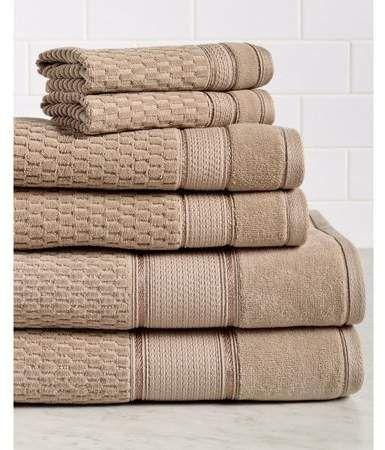 Royale 6 Piece 100 Turkish Cotton Bath Towel Set Walmart Com In 2021 Baby Bath Towel Kids Bath Towel Cotton Bath Towels