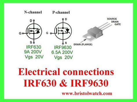 Irf630 And Irf9630 Electronic Circuit Projects Electronics Circuit Circuit Projects