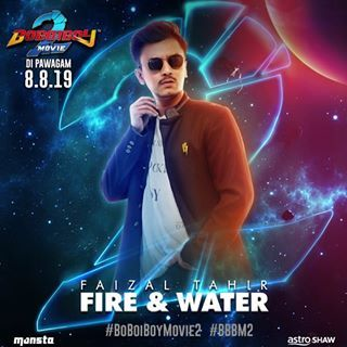 Boboiboy The Movie 2 Ost Song Fire And Water Lagu
