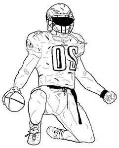 Football Player Template Printable American Football Player Coloring Pages Sketch Templat In 2020 Football Coloring Pages Sports Coloring Pages Football Player Drawing