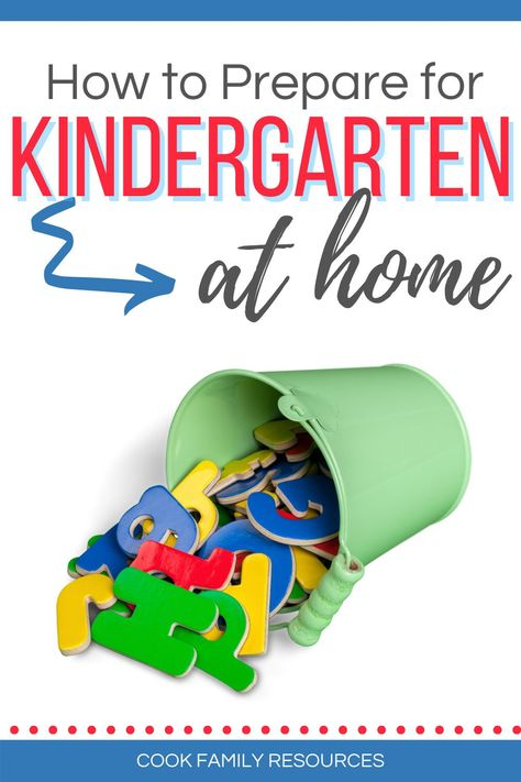 How to prepare for kindergarten at home. This post gives parents tips for getting ready for kindergarten at home. Whether you are looking for help with how to teach kindergarten at home or you are looking for kindergarten readiness activities, this post has some very good literacy activities for kindergarten at home. #kindergartenreadinessparents #kindergartenskills #prepareforkindergarten